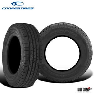 2 X New Cooper Discoverer Srx 235 65r17 104t Traction And Performance Tire