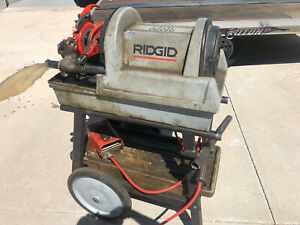 Ridgid 1822 i Power Threading Machine With Stand local Pickup Only Denver