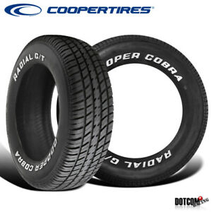 2 X New Cooper Radial G T P235 60r14 96t Tires