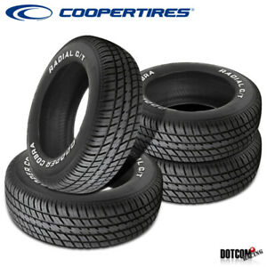 4 X New Cooper Radial G t P245 60r15 100t Tires