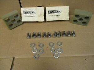 Vintage Cragar Lug Nuts 10qty For Mopar Mag Wheels 7 16 Lh Nos 9004