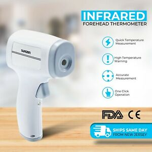 Medical Non contact Body Forehead Ir Infrared Laser Digital Thermometer Fda ce