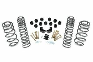 Rough Country 3 75 Dual Lift Kit Fits 1997 2006 Jeep Wrangler Tj 4cyl