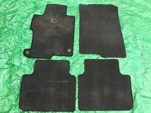 Honda Accord Sedan Oem 2013 2017 13 17 Factory Floor Mats Black Carpet 14 15 16