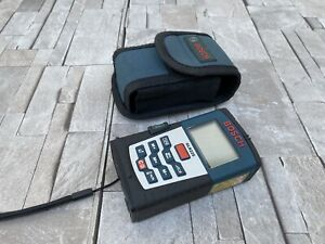 Bosch Glr 225 Laser Distance Measurements Construction Excellent Read