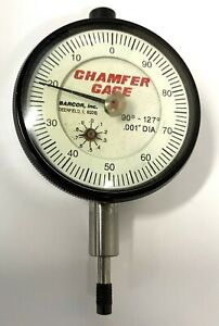 Barcor Dial Indicator For Use With 90 127 Chamfer Gage