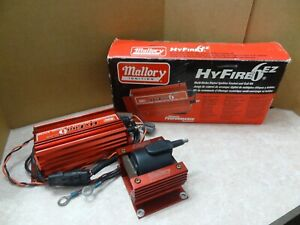 Mallory Hyfire 6 Ez Cd Ignition With Coil Rev Limiter Part 6856m