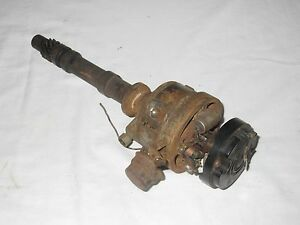 1956 56 Chevy Lcf Low Cab Forward 2 Ton Truck 265 V8 Engine Motor Distributor