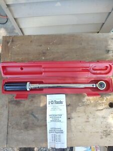 K D Tools Torque Wrench 3 8 Drive 100ft Lbs 138 9 Newton Meters