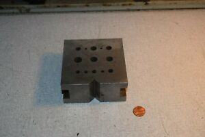 Machinist Tool Block Milling
