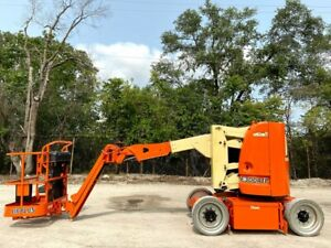 2011 Jlg E300ajp Electric Narrow Articulating Jib Boom Lift Jlg Aerial Lift