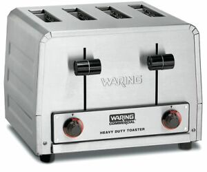 Waring Commercial 11 875 4 slice Heavy Duty Commercial Toaster Wct805