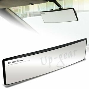 Universal Broadway Convex Interior Clip On Rear View Clear Mirror 270mm Wide