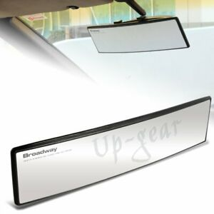 Universal Broadway Convex Interior Clip On Rear View Clear Mirror 300mm Wide