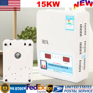 Fully Automatic Ac Voltage Stabilizer 15kw Regulator Power Supply 130v 270v Usa