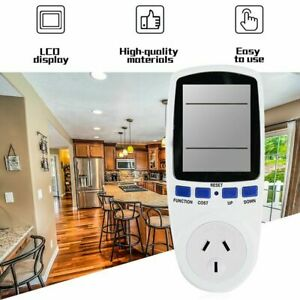 Wireless Accurate Power Billing Socket Energy Electricity Usage Monitor Outlet