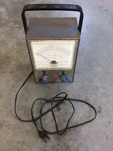 Vintage Rca Voltohmyst Type Wv 77e Volt Meter Tube Test Equipment