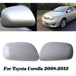 Pair Rearview Mirror Cover For Toyota Corolla 2007 2008 2009 2010 2011 2012 2013