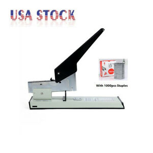 High Capacity Office Heavy Duty Stapler For 100 Sheets With 1000 Staples Free