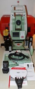 Leica Total Station Ts15 P 5 R400 Robotic And Cs15 Calibrated Free Shipping