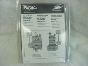 Flotec Universal Vertical Style Float Switch Sump Pump Fps17 66 New