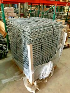 Heavy Duty Pallet Racking 30 in X 46 in Wire Mesh Decks Hundreds Available