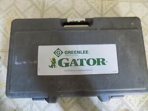 Greenlee gator Es750 Cable Cutter bare Tool please Read