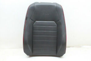 2015 Vw Jetta Gli Right Upper Seat Cushion Black Red Line Carbon Oem 15 16 17