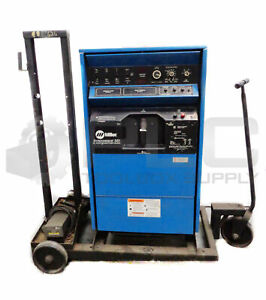 Miller Syncrowave 351 Ac dc Welding Power Source W Rfcs 14 Footpedal