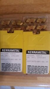 10 Pieces Kennametal Grooving Inserts Ng3189l Kc810
