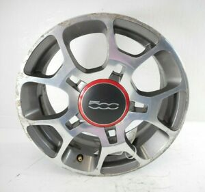 12 13 14 15 16 17 18 Fiat 500 16x6 5 Alloy Wheel Rim 5 Double Slot Spoke Oem