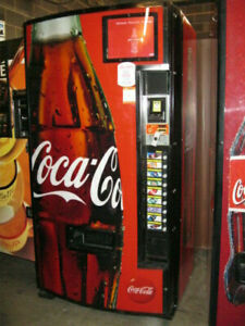 Dixie Narco 501 e Bottles cans Coca Cola Soda Vending Machine Sale