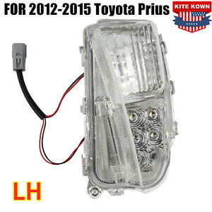 Fog Lamp Led Drl Light Lh Driver Marker For 2012 2013 2014 2015 Toyota Prius