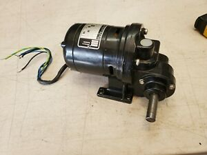 Bodine Electric Gear Reduction Motor Type Nsi 12rg 1 70 Hp 360 1 115v 4 8 Rpm