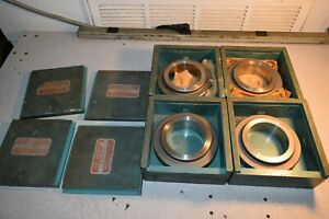 Greenfield Master Ring Setting Gage Gauge Lot Of 4