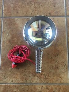 Vintage Nos Westinghouse Auto Car Chrome Metal Spotlight Lighting Cars Ex