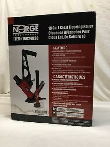 Norge Tool Company 10024938 18ga L Cleat Flooring Nailer