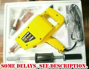 Complete Auto Body Dent Repair Kit Electric Stud Welder Gun Accessories Included