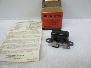 Nos 1937 1954 Chevrolet Headlight Relay With 30amp Fuse 6volt Gm 1116789 Dp