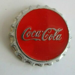 COCA COLA VINTAGE BOTTLE CAP COMPANY LOGO ART 1