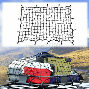 Suv Car Roof Top Rack Cover Network Luggage Carrier Cargo Basket Elasticated Net