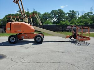 2006 Jlg E400an Aerial Manlift Boom Lift Boomlift Dual Fuel Man Basket Genie