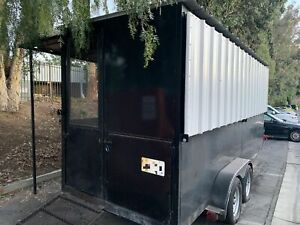 2016 Mobile Bbq Smoker Pit Barbecue Concession Trailer For Sale In California
