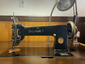Singer 114w103 Chain Stitch Embroidery Machine With Desk Excellent Condition