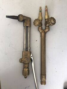 Victor 2 Stage Torch With Cutting Head Used