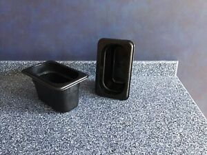 Container black Cambro Food Storage 1 8 Serving Containers Set Of 10 Used