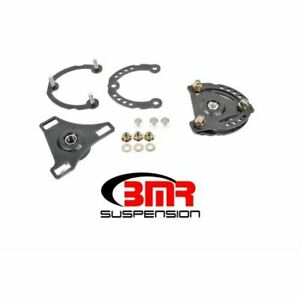 Bmr Suspension Cp001h Wheel Alignment Kit Caster Camber Plates Black New