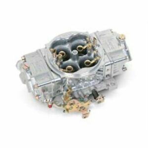 Holley 0 82751sa 750 Cfm Street Hp Carburetor Aluminum Polished Finish New