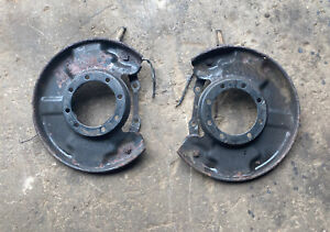 79 85 Toyota Truck 4runner Solid Front Axle Disc Brake Backing Plates L r look