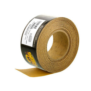 80 Grit Gold Longboard 20 Yards Long By 2 3 4 Wide Psa Self Adhesive Sandpaper